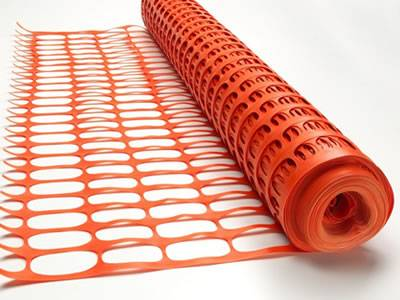 High Visible Orange Barrier Safety Tempo